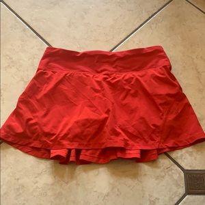 Lululemon running skirt